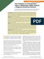 Cateter Neuroaxial en Neonato