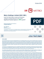 Quarz Capital Management Metro Holdings Presentation FINAL 4 Oct 2016-1