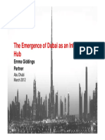 The Emergence of Dubai as an International Hub 64224