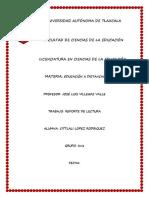 Reporte de Lectura Moodle Dos Cittlali