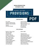 New Washington State Ferries menus