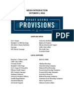 New Washington State Ferries menus