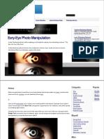 Eye Photo Manipulation