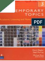 Contemporary Topics 3 - 3rd Edition