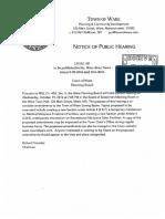 2016 Proposed Bylaw Amendments- Moratorium on Medical and Recreational Marijuana