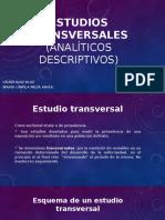 Estudios Transversales o de Prevalencia LR Y CM