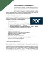 Lineamientos Para Estudios de Impacto Vial