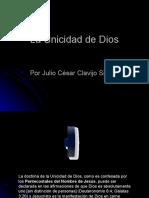 Unicidad de Dios.ppsx