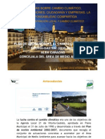 Plan de lucha contra el Cambio Climatico Vitoria-Gasteiz Alba Cañadas
