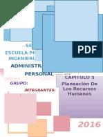 Capitulo 5 - Planeacion de los Recursos Humanos.docx