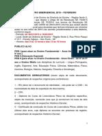 CADASTRO EMERGENCIAL 2015