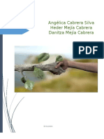 Bitacora Del Programa Ambiental Familiar Danitza