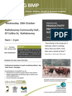 Grazing BMP Workshop Flyer - Rathdowney 26th Oct 2016