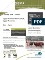 Grazing BMP Workshop Flyer - Upper Yarraman 13th Oct 2016