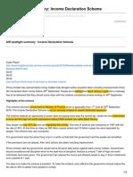 Insightsonindia.com-AIR Spotlight Summary Income Declaration Scheme