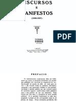 COLLOR, Lindolfo - Discursos e Manifestos