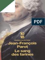 Parot, Jean-Francois - Nicolas Le Floch 06 - Le sang des farines.epub