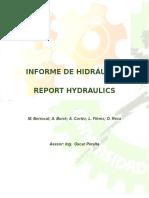 Informe Válvula Limitadora de Presion y Valvula Reguladora de Caudal