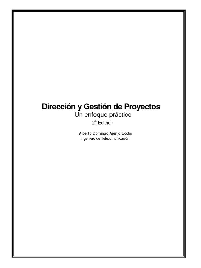 00.. a.- Dirección y Gestión de Proyectos II