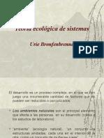 Teoría ecológica y social[1]
