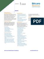 Clinical Research & Development Factsheet