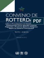 Convenio Rotterdam Plaguicidas y Productos Quimicos