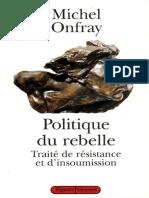 Politique du rebelle.epub