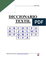 Diccionario Textil Español-Ingles
