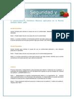 Definiciones de La Norma OHSAS 18001versión 2007