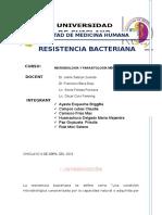 Resistencia Antibacteriana (SEMINARIO I UNIDAD