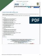Instituto Geografico Agustin Codazzi - Listado de servicios Web