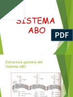 Sub Grupos ABO - Titulacion