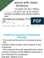 Module 1 - Topic 3 Lecture 4 (the Mole Concept)