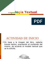 Tipologia Textual 2016