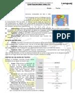 8 Texto Dialogado, Guión y Estructura Teatral.