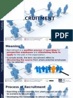 Chapter 4- Recruitment