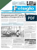 Edicion Impresa El Siglo 04-10-2016