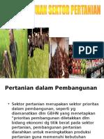 Bab 5 Pembangunan Pertanian
