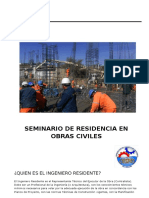 Seminario de Residencia en Obras Civiles