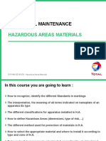 Hazardous Areas Materials