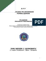 6 RPP Menerapkan Prinsip Prinsip Seni Grafis Dalam Desain Komunikasi Visual Untuk Multimedia SUSANTO