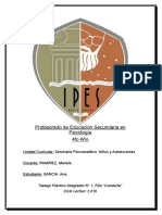 Tp Seminario psicoanalitico Conducta