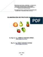 INTERNET - UNIVERSIDAD LA MOLINA Separata Fruta en Almibar- Universidad