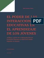 Libro - El Poder de Las Interacciones Educativas en El Aprendizaje de Los Jovenes