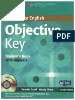 Capel Annete Sharp Wendy Cambridge English Objective Key Stu