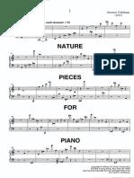 Feldman, Morton - Nature Pieces For Piano.pdf