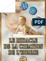 le miracle de la creation de l'homme