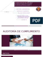 Auditoría de Cumplimiento