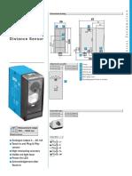 Distance Sensor DT60