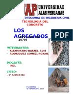 LOS AGREGADOS UAP 2015--I - copia.pptx
